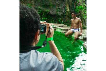 Sesión de fotos trajes de baño para hombres para Semana Santa
